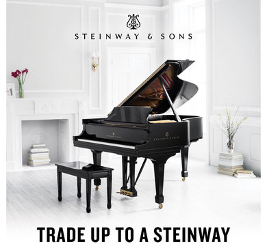 Trade Up To A Steinway!